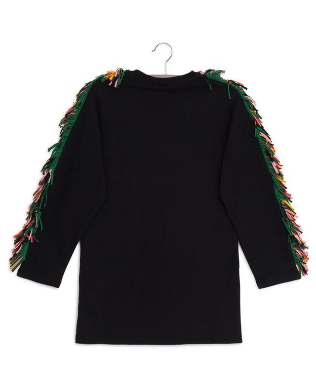 Robe en coton avec étoile et franges STELLA MCCARTNEY KIDS