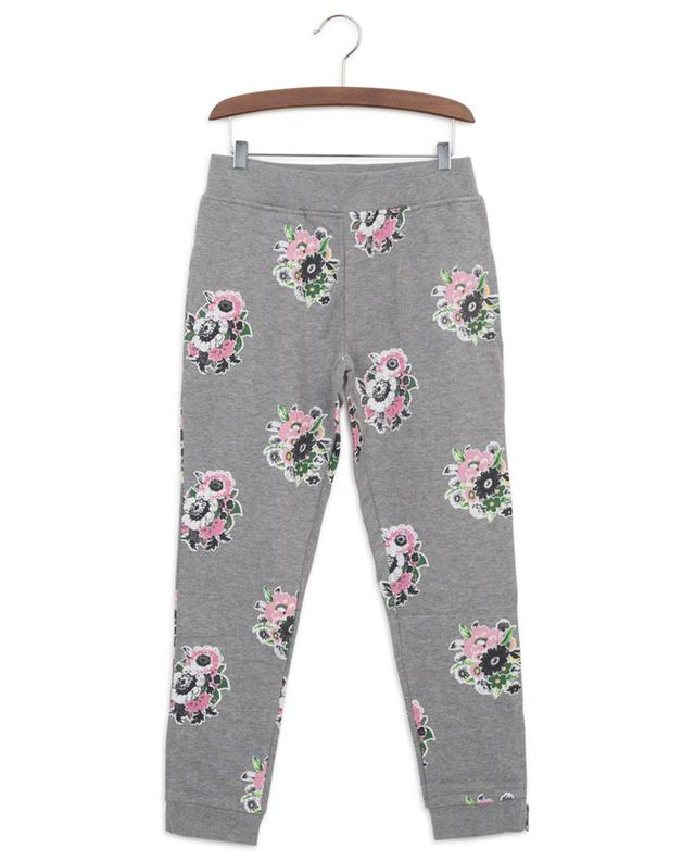 Flower Bouquet sustainable cotton track trousers STELLA MCCARTNEY KIDS