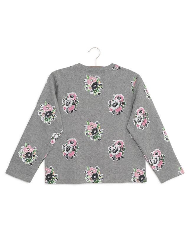 Sweat-shirt en coton imprimé fleuri STELLA MCCARTNEY KIDS