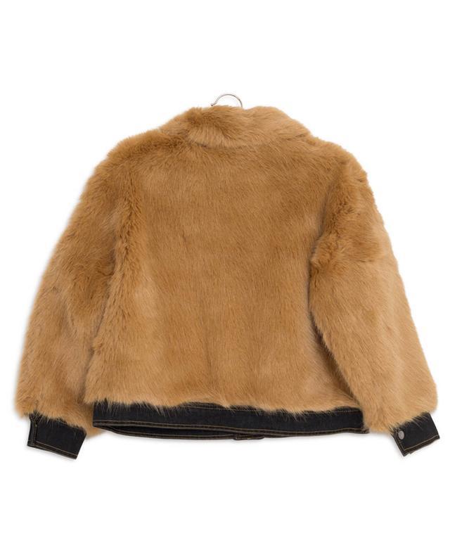 Faux fur jacket STELLA MCCARTNEY KIDS