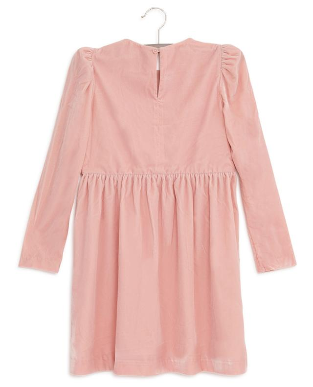 Stars embroidered velvet dress STELLA MCCARTNEY KIDS