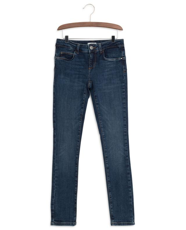 Crystal-embellished slim fit jeans LIU JO