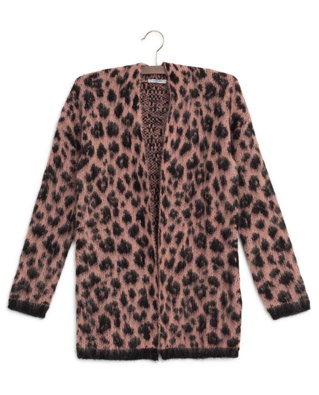 Long leopard print cardigan LIU JO