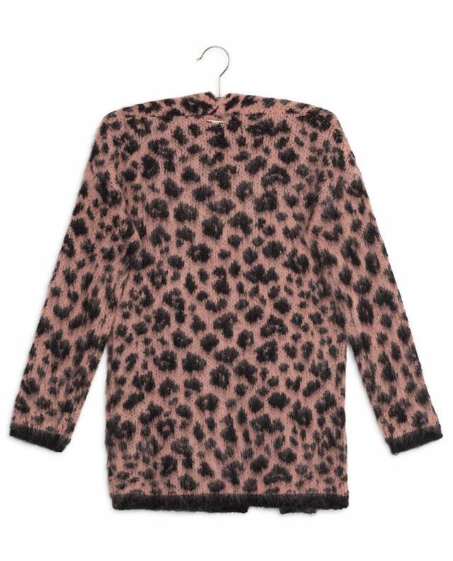 Long cardigan imprimé léopard LIU JO