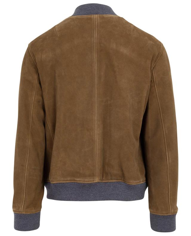 Suede bomber jacket RUFFO