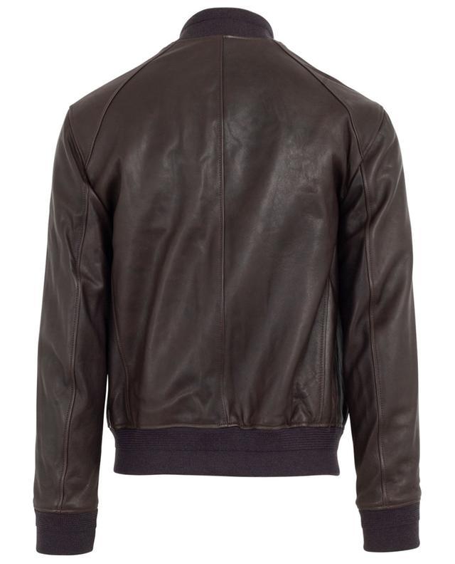 Leather bomber jacket RUFFO