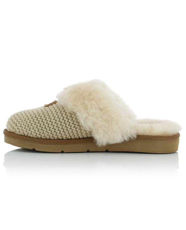 Cozy Knit sheep skin slippers UGG