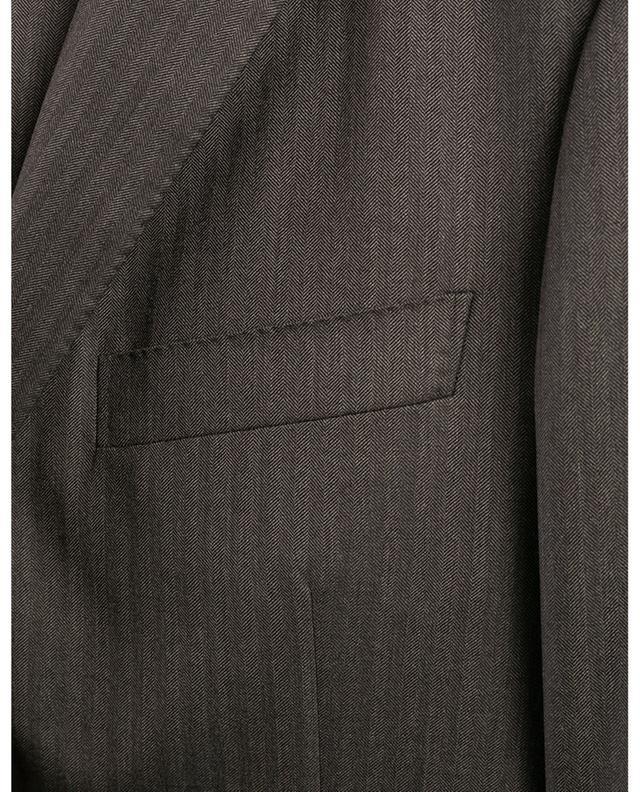 Costume en laine texturé chevron BELVEST