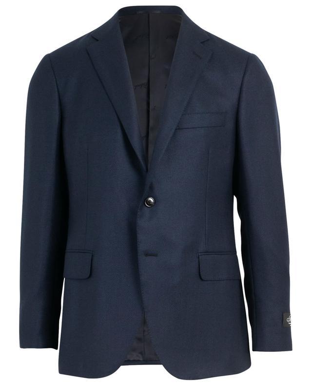 Chessboard textured cashmere blazer BELVEST