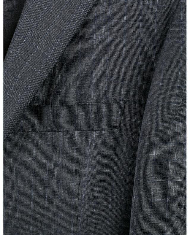 Checked wool suit BELVEST