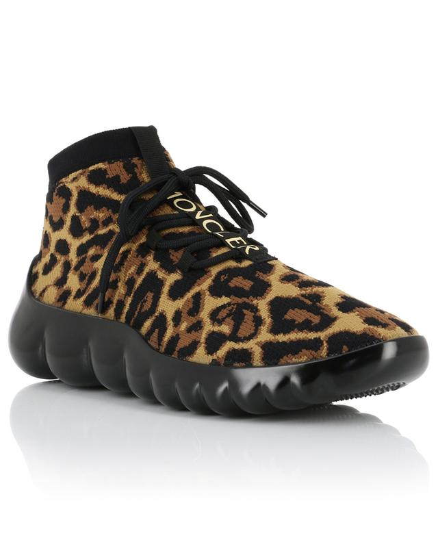 Clelie leopard print sock sneakers MONCLER