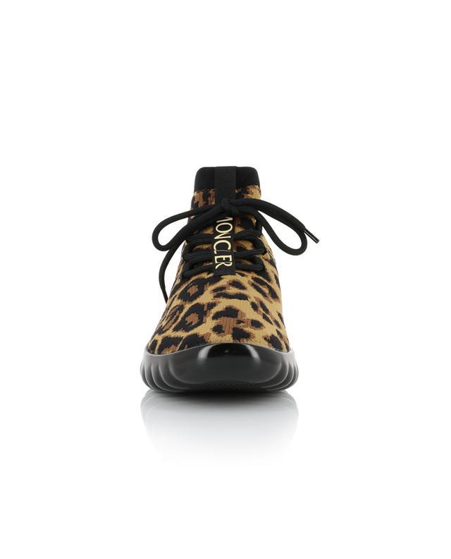 Baskets chaussette imprimé léopard Clelie MONCLER