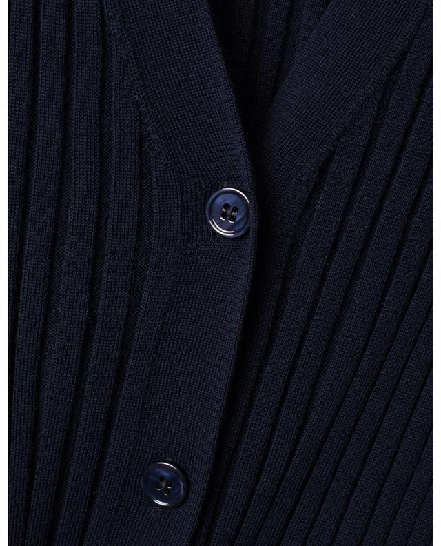Leichter schmaler Rippstrick-Cardigan mit V-Ausschnitt BONGENIE GRIEDER