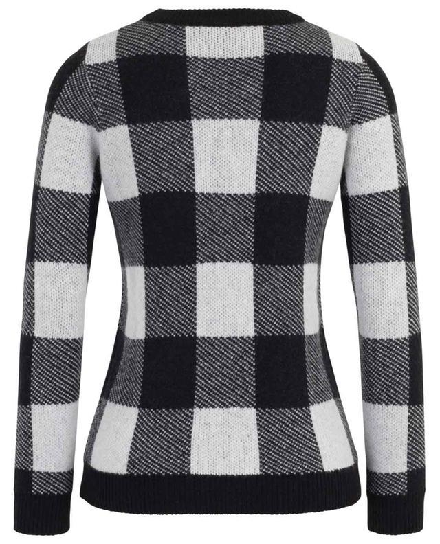 Check cashmere round neck jumper BONGENIE GRIEDER