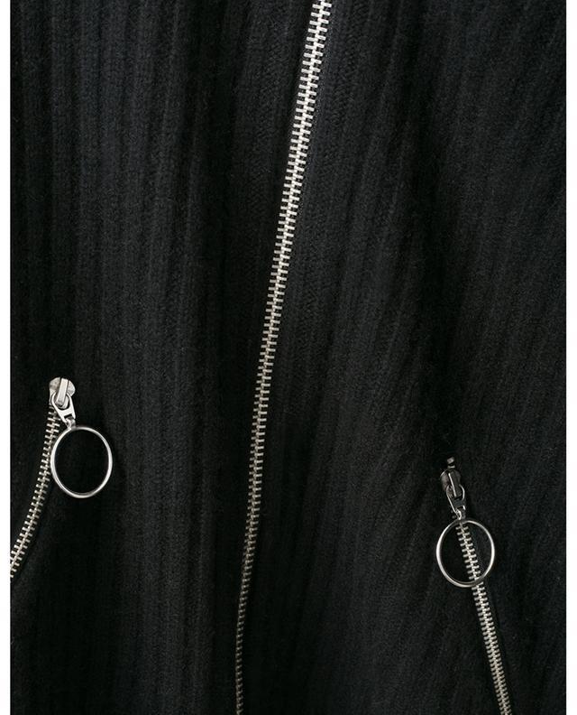 Cardigan côtelé épais zippé BONGENIE GRIEDER