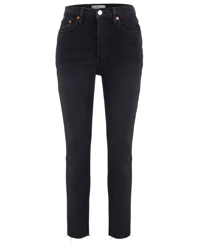 High-rise Ankle Crop cropped high-rise jeans RE/DONE
