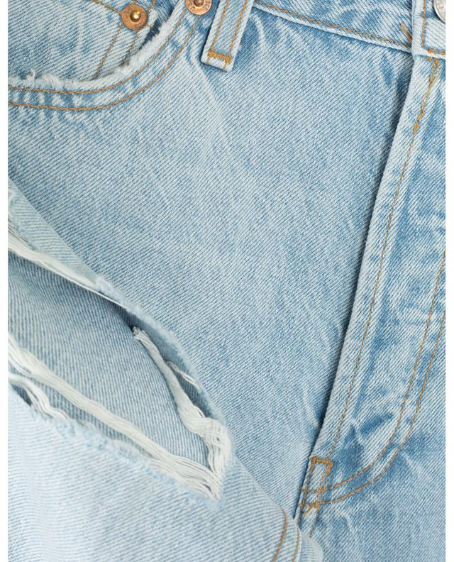 High-rise jeans with rips RE/DONE