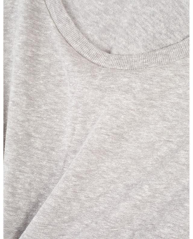 Cotton blend mottled T-shirt RE/DONE
