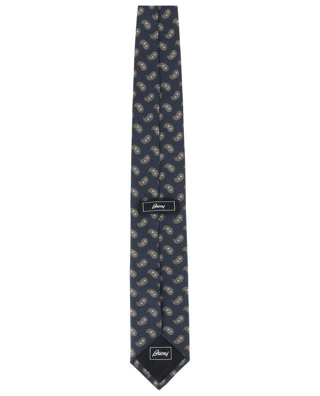Cravate en soie imprimé Paisley BRIONI
