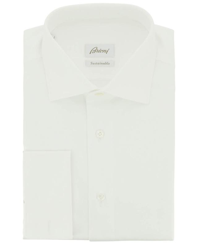 Cotton shirt with French cuffs BRIONI