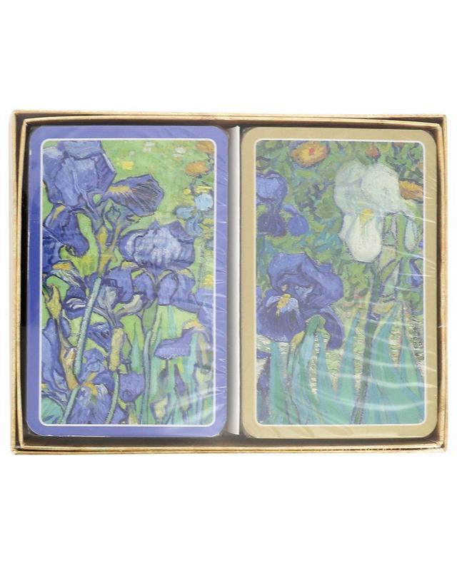 Van Gogh Irises two card games CASPARI