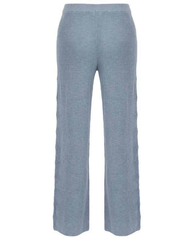 Cynthia knitted wide-leg trousers SKIN