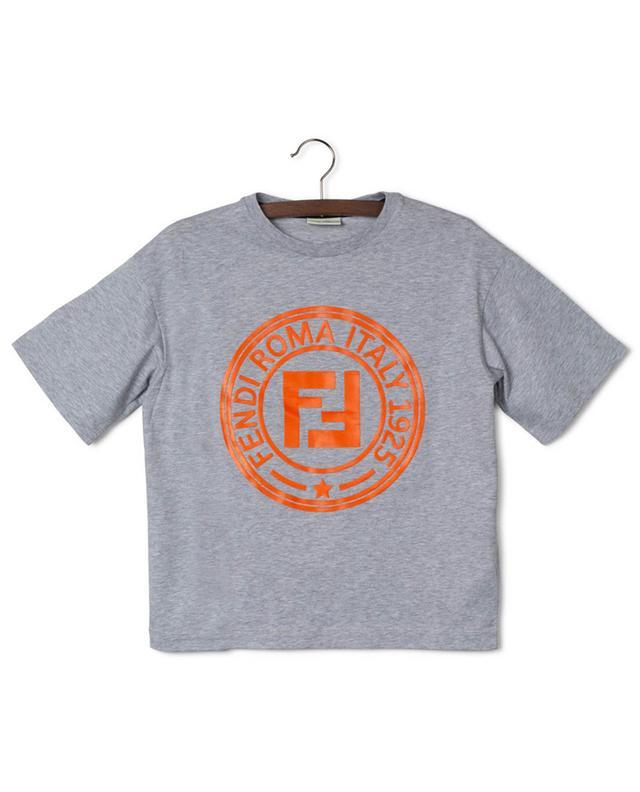 T-shirt en jersey imprimé Fendi Stamp FENDI