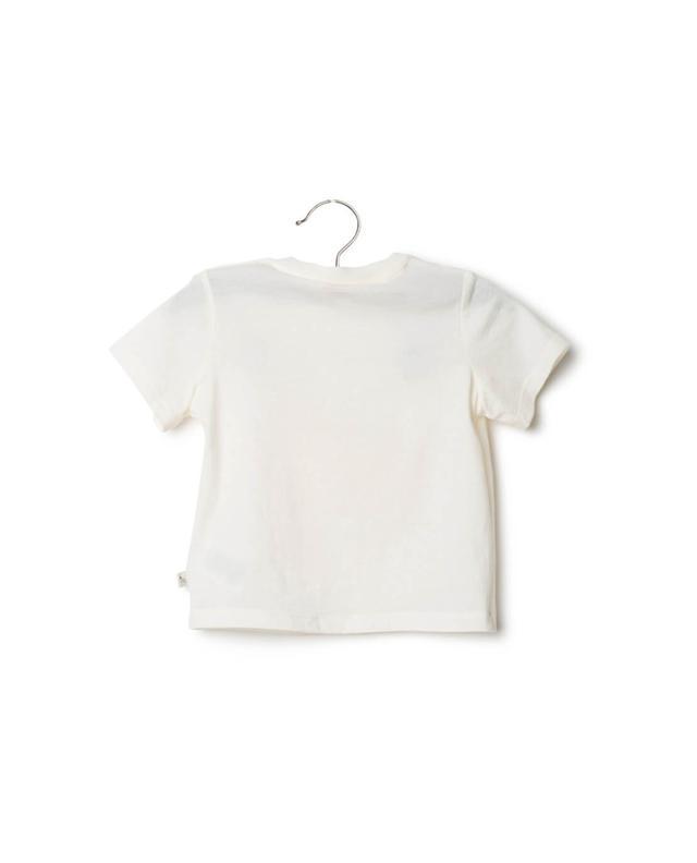 Stella mccartney printed cotton t-shirt white A14827-BLAN