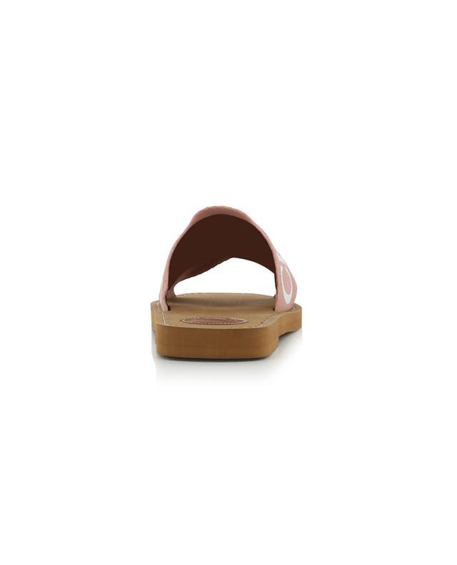 Sandales plates avec logo Woody CHLOE