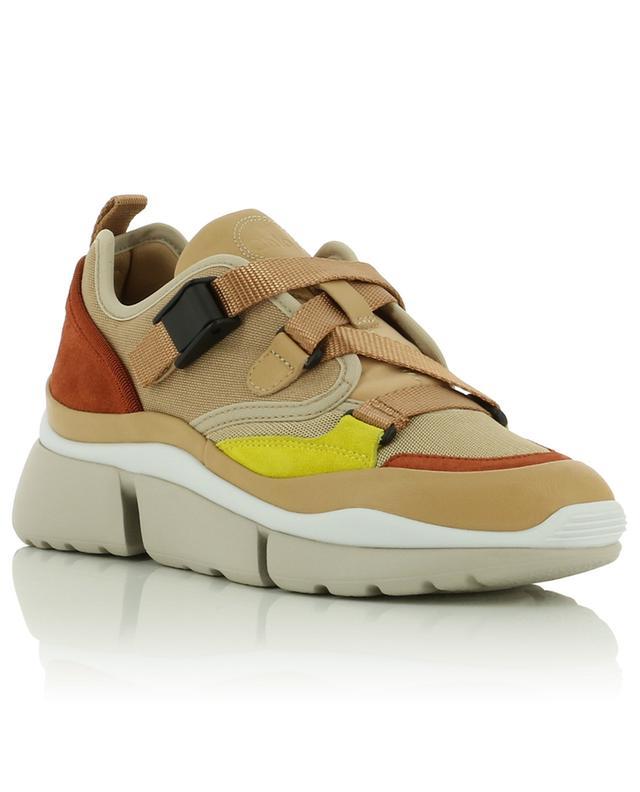 Sonnie utilitarian spirit material blend sneakers CHLOE