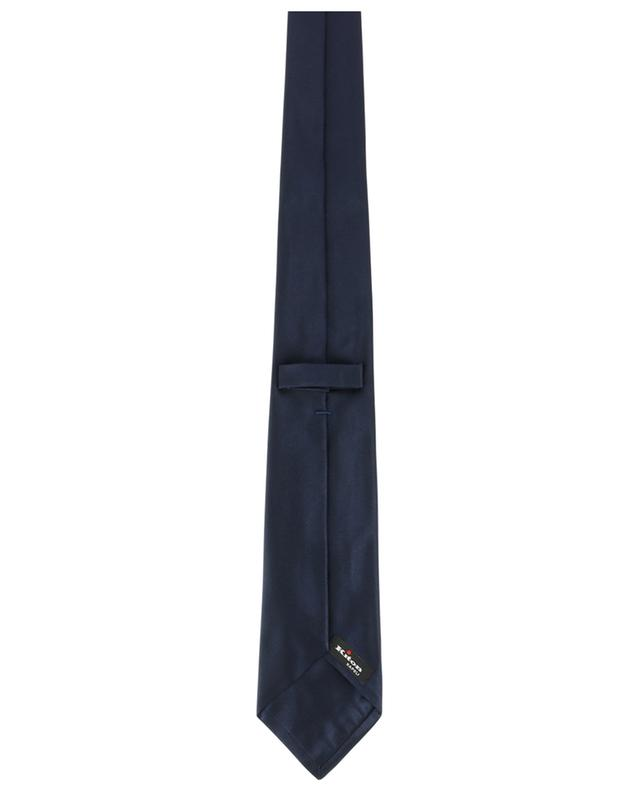 Cravate en soie unie KITON