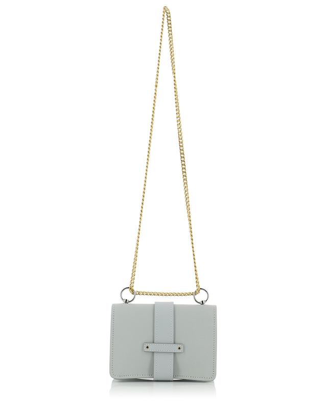 Aby Chain Mini grained leather shoulder bag CHLOE