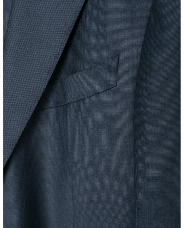 Print wool suit ERMENEGILDO ZEGNA