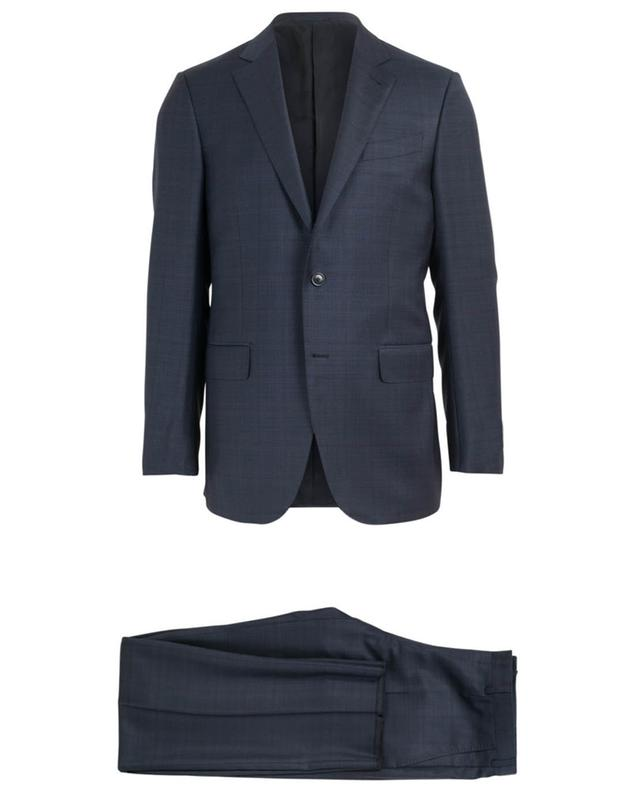Print wool and silk suit ERMENEGILDO ZEGNA