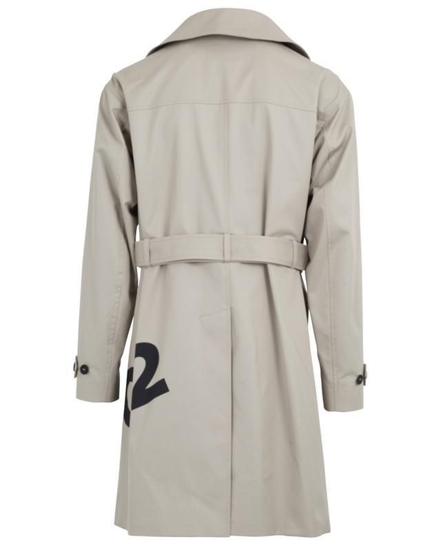 Trench-coat en sergé de coton DSQUARED2