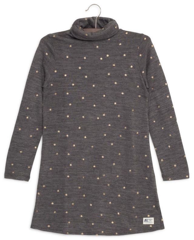 Robe étoilée en laine mélangée Hanne AO76