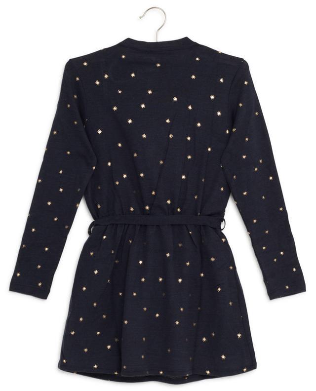 Robe en laine mélangée étoilée AO76