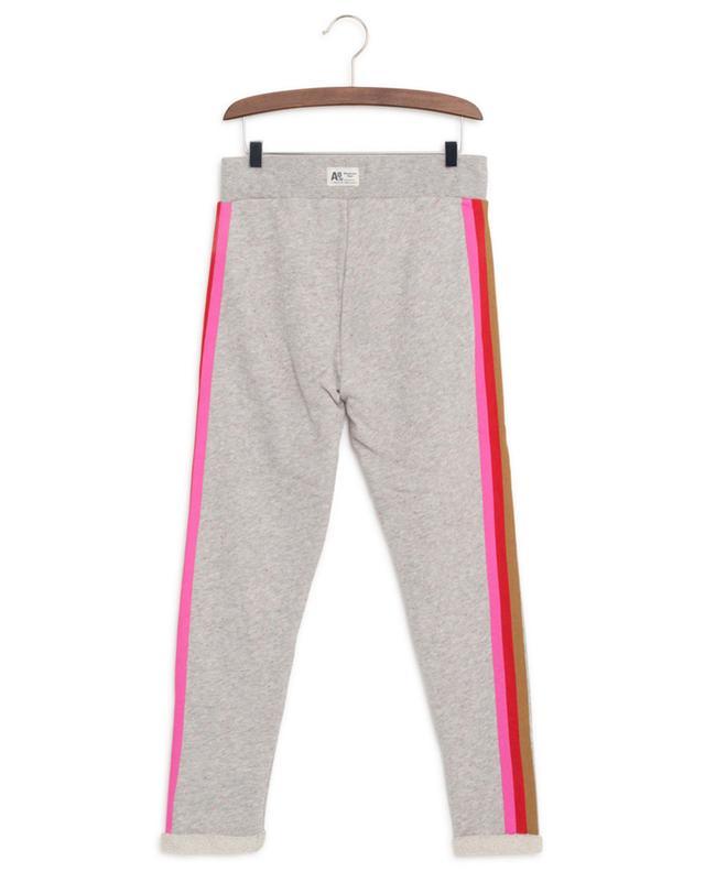 Pantalon de jogging en coton rayé AO76