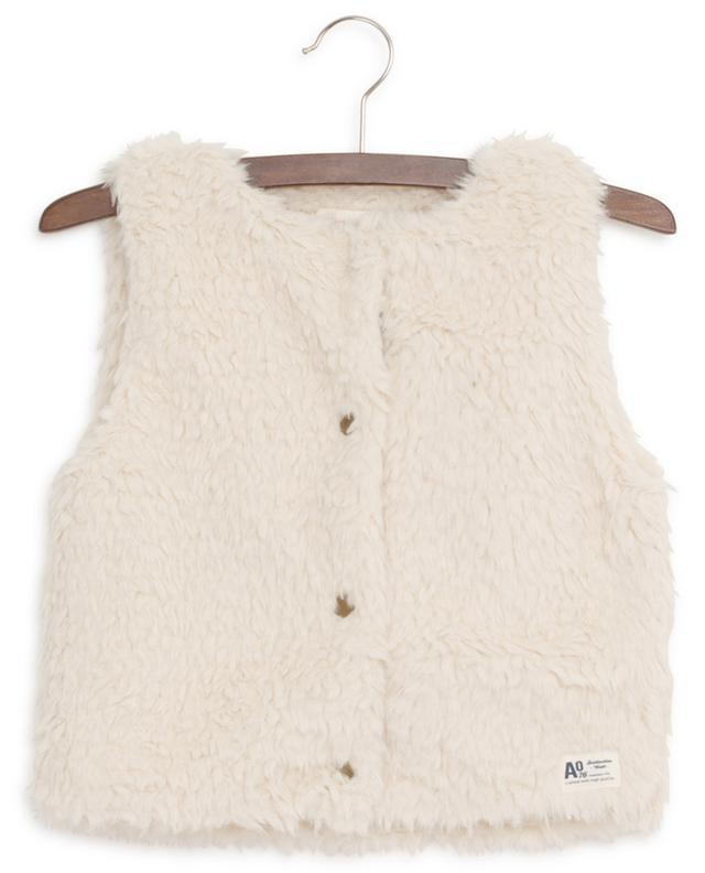 Faux fur vest AO76