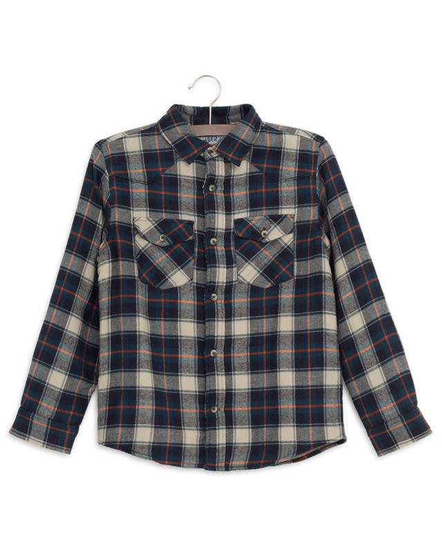Teddy Mike checked shirt AO76