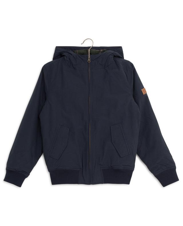 Nylon bomber jacket AO76