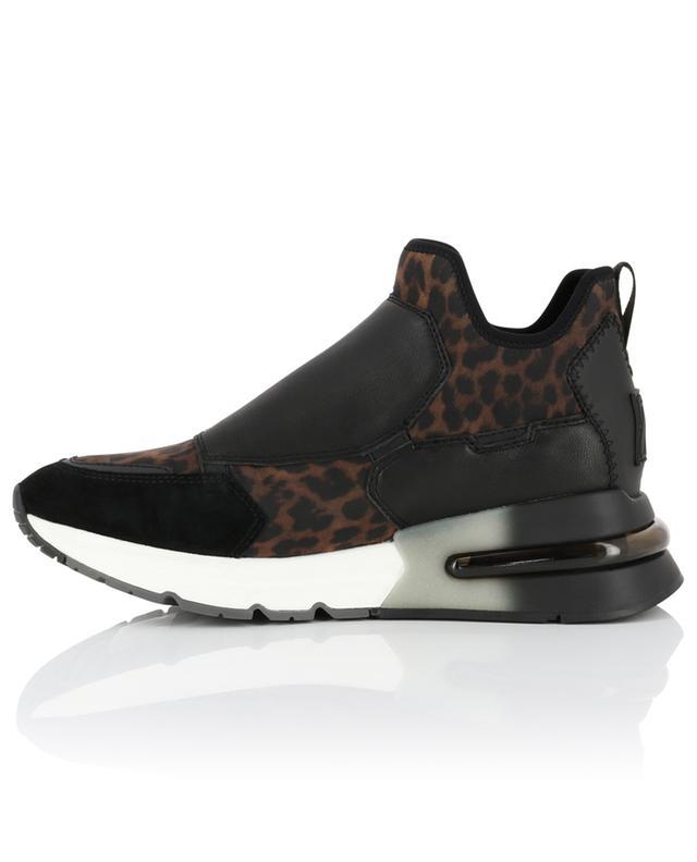 Slip-On-Sneakers mit Leo-Print Krystal ASH