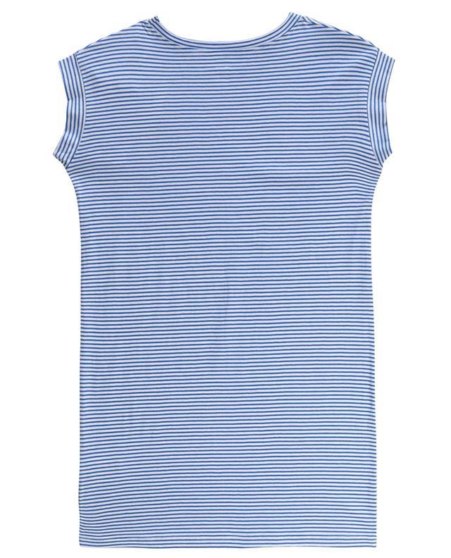 Robe T-shirt rayée imprimée Peace Billie ZADIG & VOLTAIRE