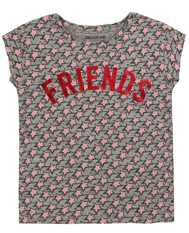 T-shirt imprimé étoiles Friends Anne ZADIG & VOLTAIRE