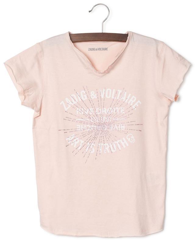 T-shirt imprimé Art is Truth avec cristaux Boxo ZADIG & VOLTAIRE