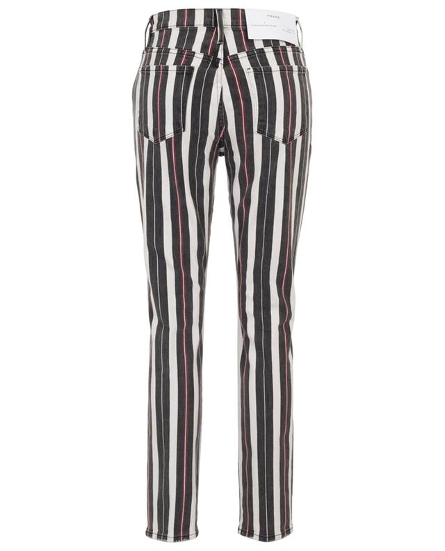Le Sylvie Slender Straight striped straight jeans FRAME