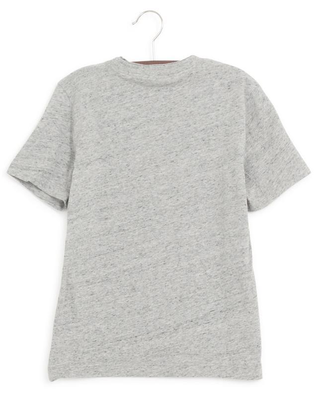 T-shirt en coton chiné imprimé casque Kita ZADIG & VOLTAIRE