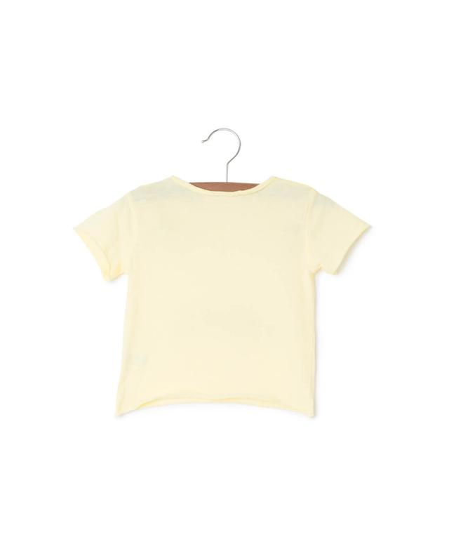 Zadig et voltaire printed cotton t-shirt yellow A14977-JAUN