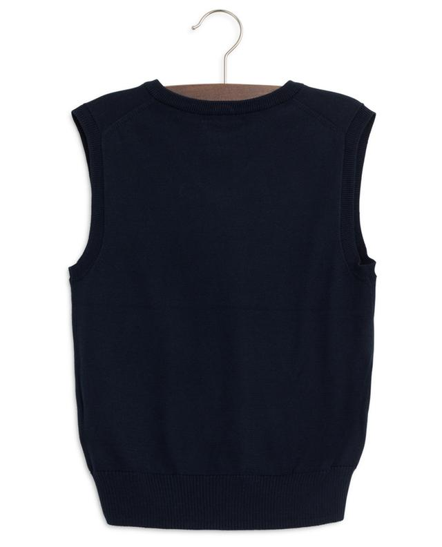 Sleeveless cotton jumper POLO RALPH LAUREN