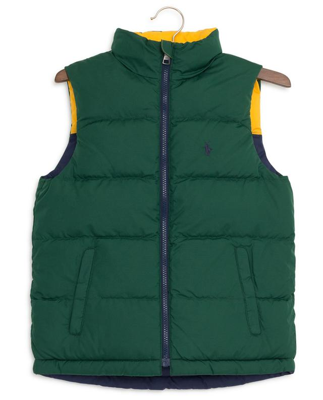 Reversible quilted down vest POLO RALPH LAUREN